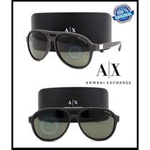 Gafas Armani Exchange Ax4055s - Matte Mountain Micas Marron