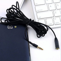 Cable Extension Para Audifonos Y Micrófono 3.5 Mm Uso Rudo