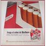 Dante42 Publicidad Antigua Retro Cigarros Marlboro 1968