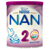 Nan 2 Leche Lr Polvo 24/350 Gr