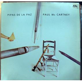 Paul Mccartney Pipas De La Paz Lp Disco Vinilo