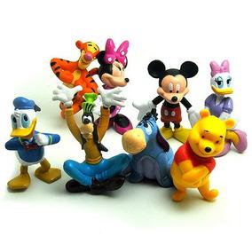 Lote 8 Bonecos Disney Pronta Entrega