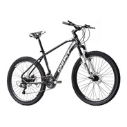 Bicicleta Ghost Claw R26, Negro-plata