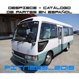 Manual Despiece Catalogo Toyota Coaster 1993 - 2000 Español