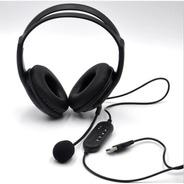 Auricular Usb Con Microfono Jetion Jet-108u Para Pc Notb Ps4