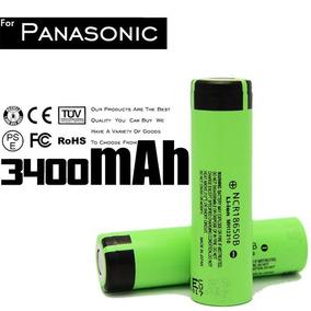 Bateria 18650 2pçs Panasonic Original 3400mah 3.7v Promoção