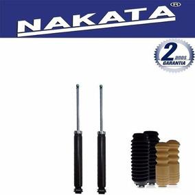Jogo Amortecedor Traseiro Nakata Siena 2002 2003 2004 + Kit
