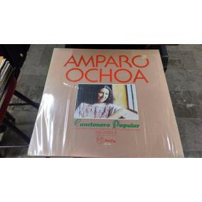 Lp Amparo Ochoa Cancionero Musical Vol 2 Acetato,long Play