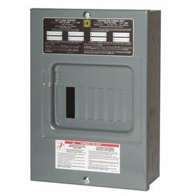 Kit Electrico Interruptor 3p60a Ig+centro Carga 8p 100a Sqd