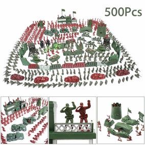 Soldados De Plástico - Brinquedo - Guerra - Policia - 500 Un