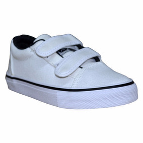 Zapatillas Rusty Niño Hans White Canvas - Rz010304