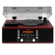 Toca-discos Teac Vintage Anos 80 Madeira Lp R550 Cassete Rád