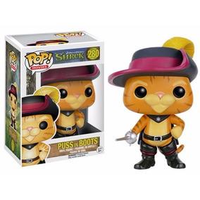 Boneco Puss In Boots Gato De Botas Shrek Popmovies 280 Funko