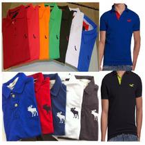 Camisa Polo Kit 3 Camiseta Polo Masculina Atacado Revenda