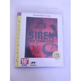 Jogo Siren New Translation Playstation 3 Seminovo Ps3