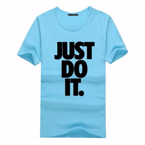 Camiseta Lançamento Nike Just Do It - Blusa Top 100% Algodão