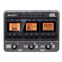 Zoom G3 Pedalera Multiefectos Simulador Amplis Guitarra 12pa