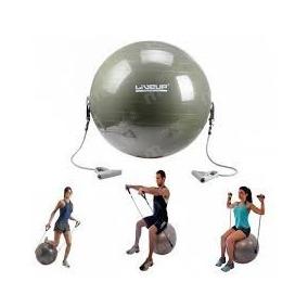 Pelota Esferodinamia Con Expansor 65 Cm Liveup Pilates Yoga