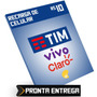 Recarga De Celular R$ 10 Reais Credito Tim Vivo Claro Oi