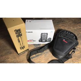 Camara Canon Reflex T6 Wifi Lente18-55 Funda Ó Tripié Gratis