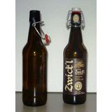 Botella Vacía Cerveza Alemana Con Tapon Hermetico 500 Ml X 2