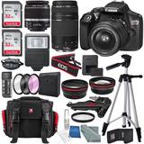 Canon Eos Rebel T6 Dslr Camera With 18-55mm Camara Digital