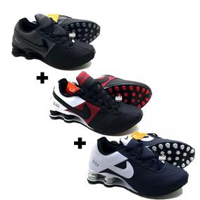Tênis Nike Shox 4 Molas Deliver Avenue Originals 3 Pares