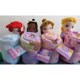 Princesas Disney De Peluche Con Cobijas