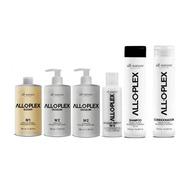 Kit Alloplex Blocker + Shampoo E Condic.+ Passo 3 All Nature