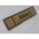 Porta Nombres Personalizados Con Corte A Laser