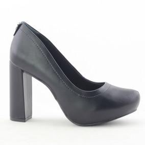 Sapato Ramarim 1740101 Feminino Preto Salto Grosso - Coutope