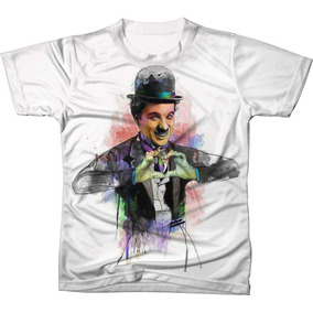 Camisa Camiseta Blusa Charlie Chaplin Filme Cinema Ref 4 07b3684c542f3