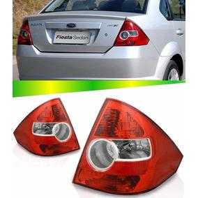 Par Lanterna Traseira Ford Fiesta Sedan 03 04 05 06 07 08 09