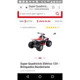 Quadriciclo 12 V