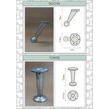 Patas De Aluminio Para Sillones Y Muebles