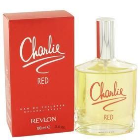 Perfume Charlie Red Feminino Revlon 100ml Edt - Original