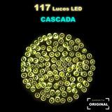 Serie Solar Cascada Automatica 117 Luces Led