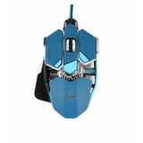 Mouse Gamer Foxtrot Zulu Iluminado Led 10 Botones