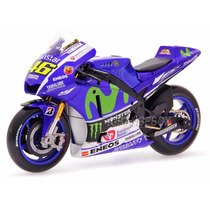Yamaha Yzr-m1 Gp 2015 Movistar Valentino Rossi 1:10 Maisto