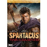 Dvd Spartacus: War Of The Damned Importado