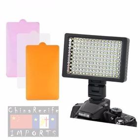Iluminador Hd 160 Led Para Foto Video Dslr Filmagem