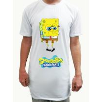 Camiseta Bob Esponja Long Size Line 01