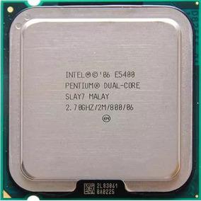 Processador 775 Intel Dual Core E5300 Gar. 3 Meses