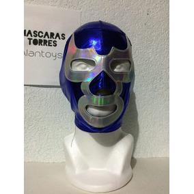 Blue Demon Luchador Mascara D Licra Para Adulto