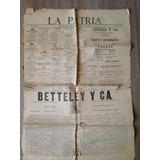 Valparaíso Diario La Patria 1890