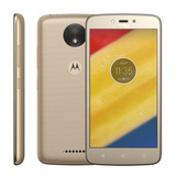 Motorola Moto C Quad 2 Chips 4g 16gb 5mp Tela5 Flash Frontal