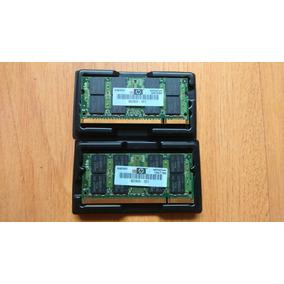 Par De Memórias Notebook Hp/smart Ddr2 800 2x2gb
