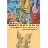 Ensayo Sobre El Subdesarrollo - Augusto Zamora