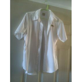 Camisa Columbia Talla S Blanca