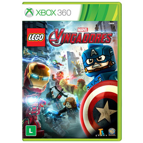 Jogo Lego Vingadores Para Xbox 360 (x360) - Wb Games